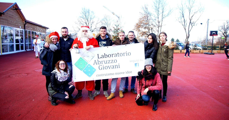 """Laboratorio Abruzzo Giovani, """"missione"""" Babbo Natale ad Amatrice"""