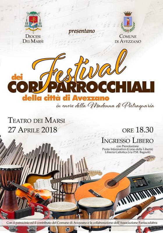 In onore della Madonna di Pietraquaria il Teatro dei Marsi si colora con la prima edizione del Festival dei cori parrocchiali