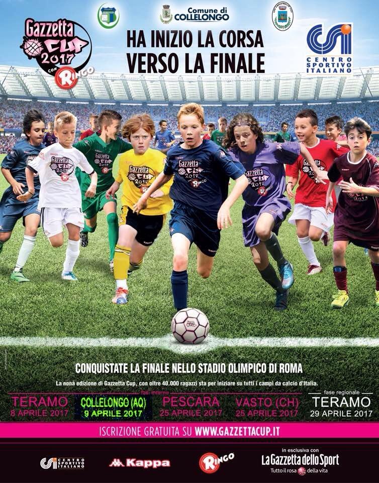 La Us Capistrello organizza la Gazzetta Cup a Collelongo