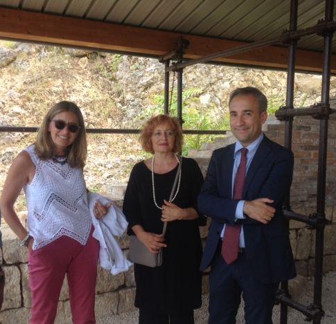 Turismo e valorizzazione del territorio, Gianluca Lioni in visita a Luco dei Marsi
