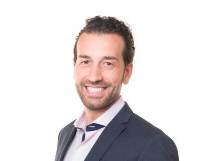 Il giovane imprenditore Mirko Marchione al fianco di Di Pangrazio