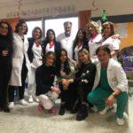 Miss Sorridi con Noi Ilaria Di Paolo con i piccoli pazienti del reparto di pediatria dell'ospedale civile di Avezzano