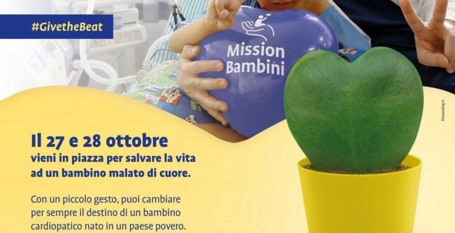 """""""Prendiamoci cura di ogni cuore"""" con Mission Bambini"""