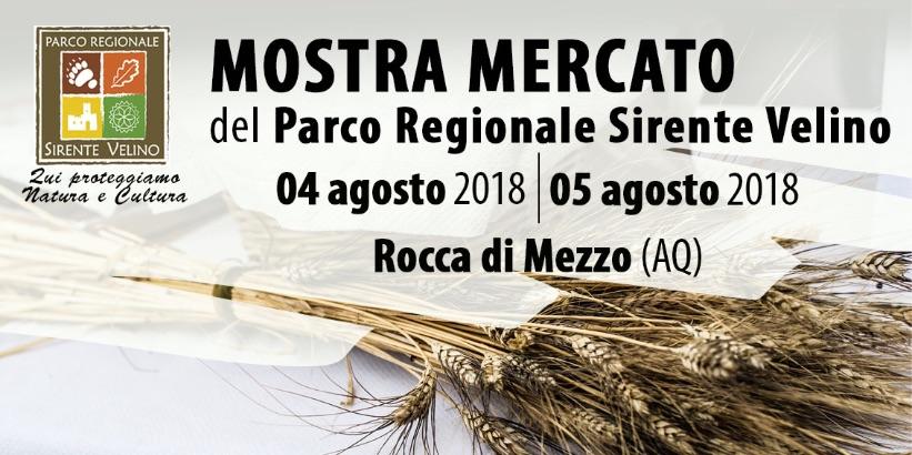 Eccellenze gastronomiche e artigianato per l'edizione estiva dellaMostra Mercatodel Parco Regionale Sirente Velino