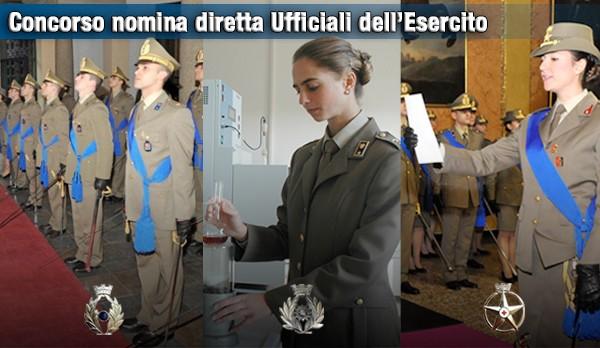 Esercito, concorso per tenenti in servizio permanente nei ruoli normali del Corpo degli Ingegneri, del Corpo Sanitario e di Commissariato
