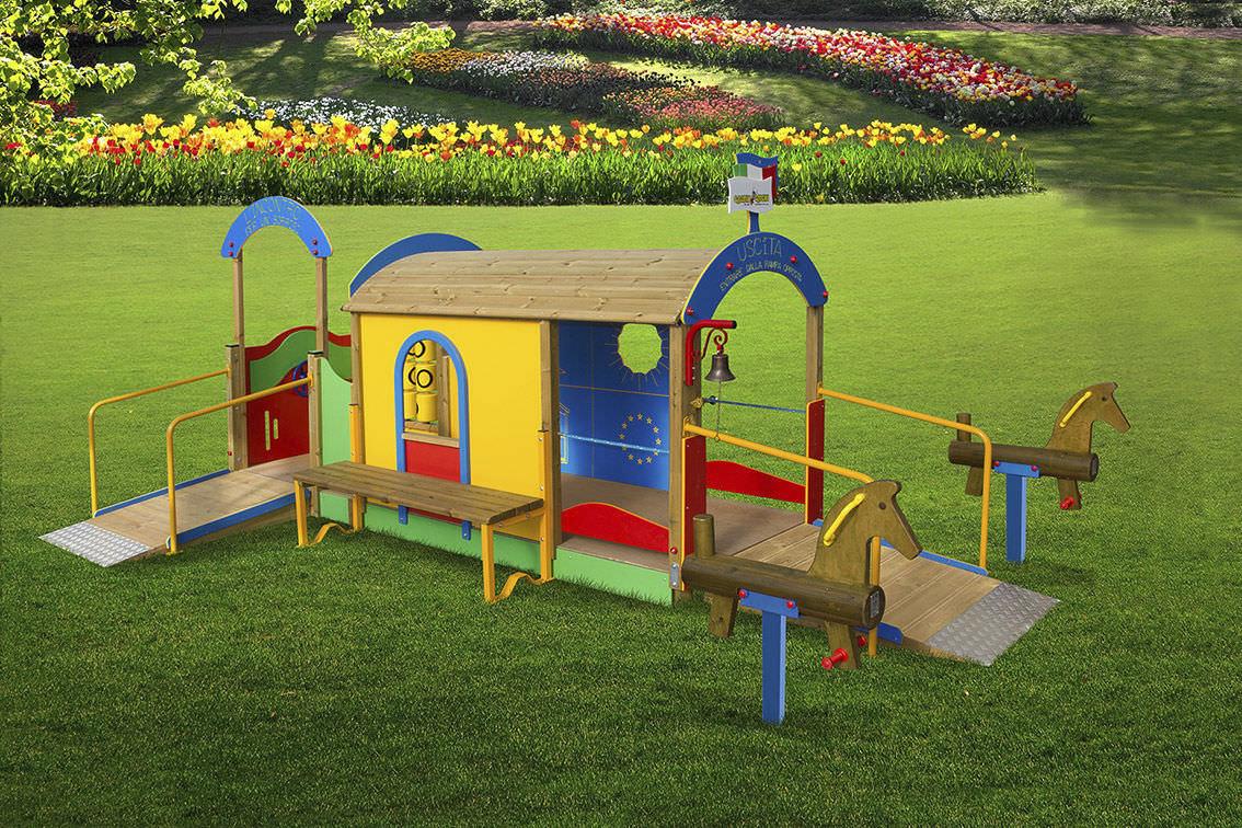 Parco giochi per bimbi diversamente abili, le donazioni in piazza Risorgimento