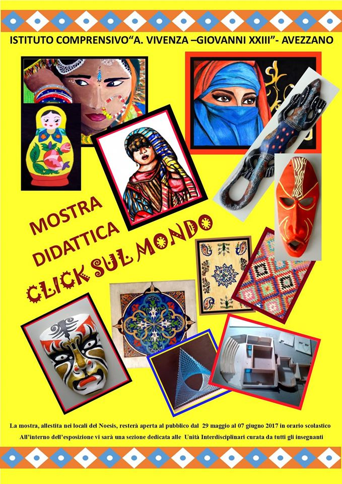 """Al Noesis, con """"Click sul mondo"""" tornano in mostra gli studenti della Vivenza"""