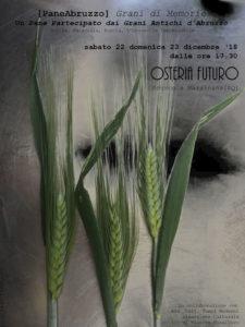 [PaneAbruzzo] Grani di Memorie, nella Marsica l'idea per un Natale Biodiverso: …Un Pane Partecipato dai Grani Antichi d'Abruzzo