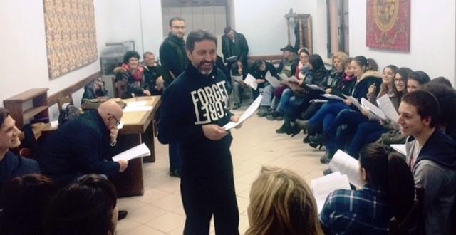 """All'ex Arssa """"rivive"""" la Passione di Gesù Cristo con un centinaio di attori delle compagnie teatrali marsicane"""