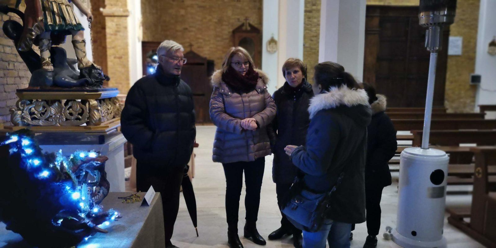 Inaugurata la prima edizione di presepi in mostra a Petrella Liri