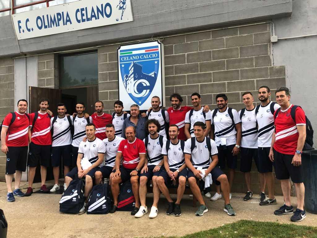 Presentata la Prima Squadra del Celano Calcio