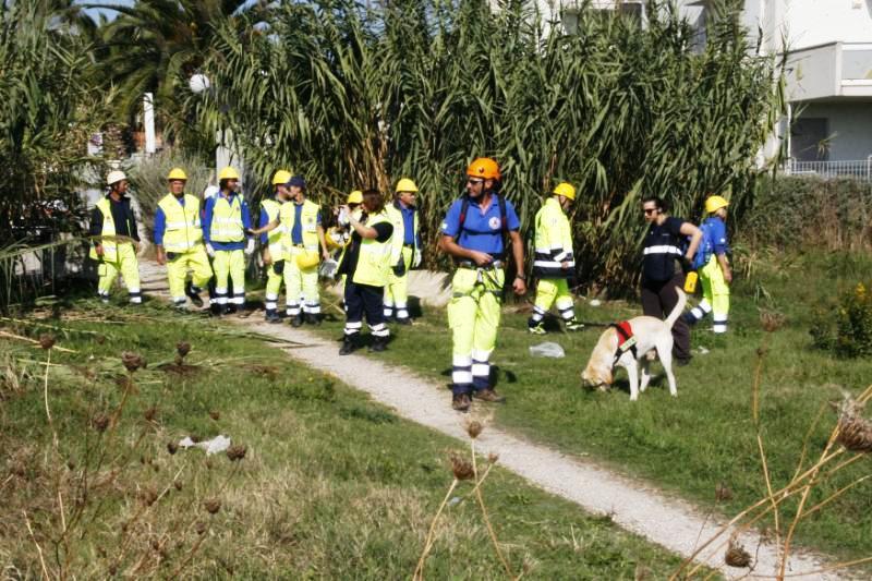 Coppia di escursionisti ritrovata dalla Protezione Civile sui Prati di S. Elia
