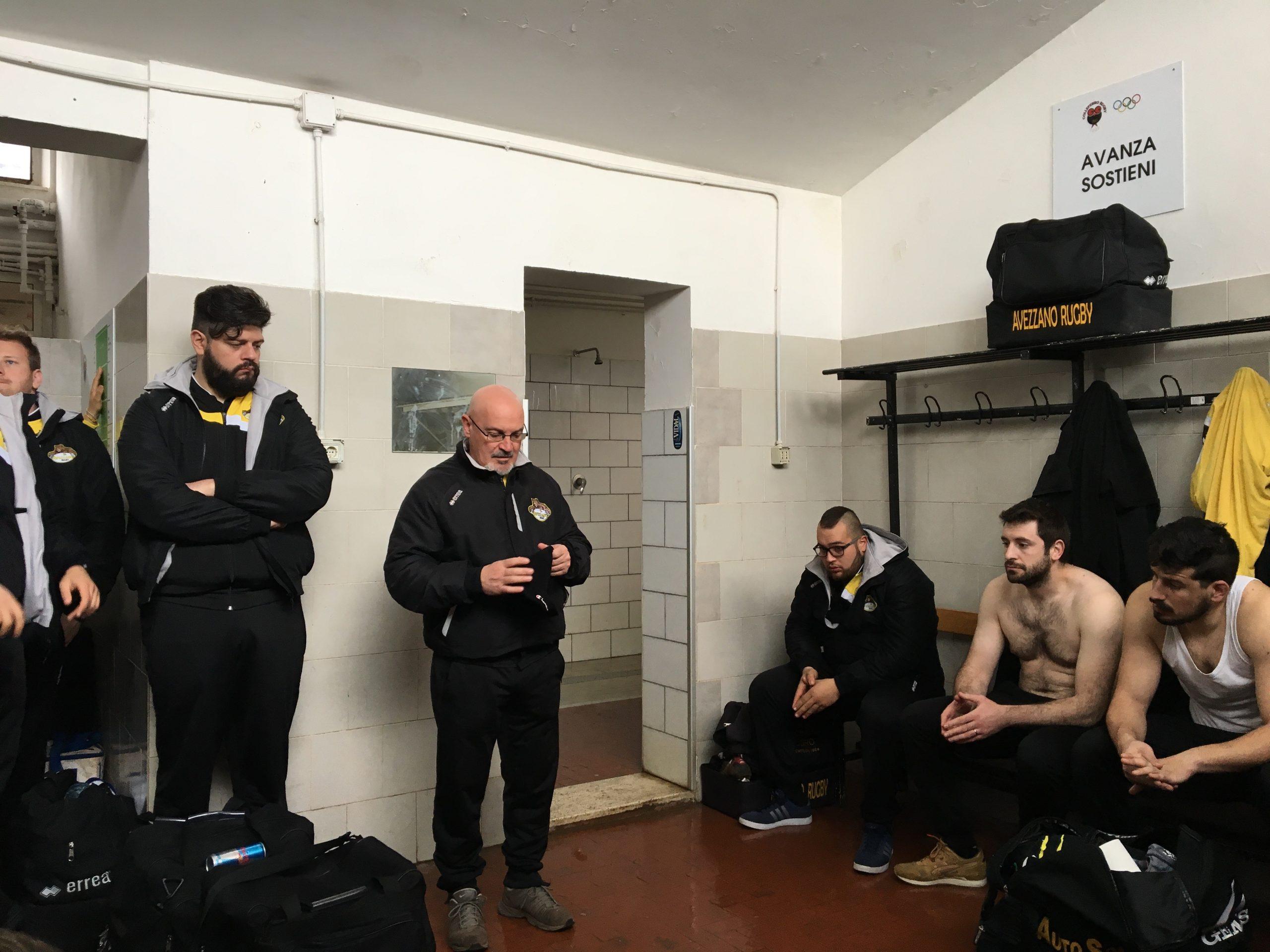 Seconda sconfitta consecutiva per l'Avezzano rugby che perde a Colleferro 20 a 5