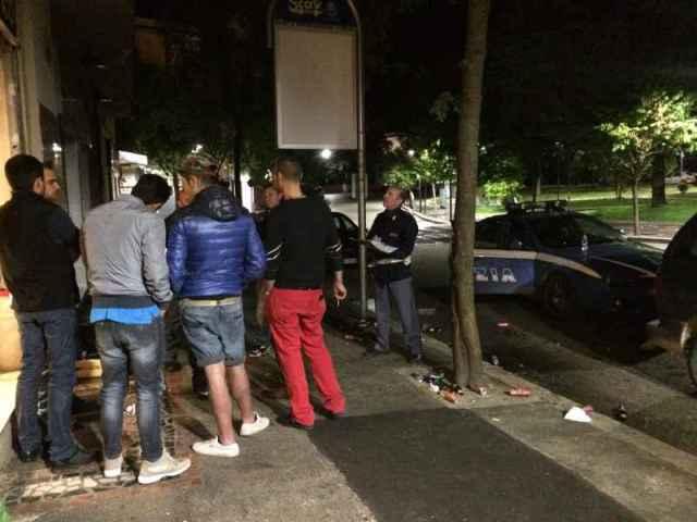 Rissa in Piazza: tre uomini nei guai