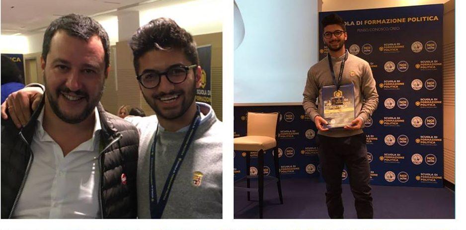 Flavio Cotturone è il nuovo responsabile del movimento giovanile di Noi con Salvini
