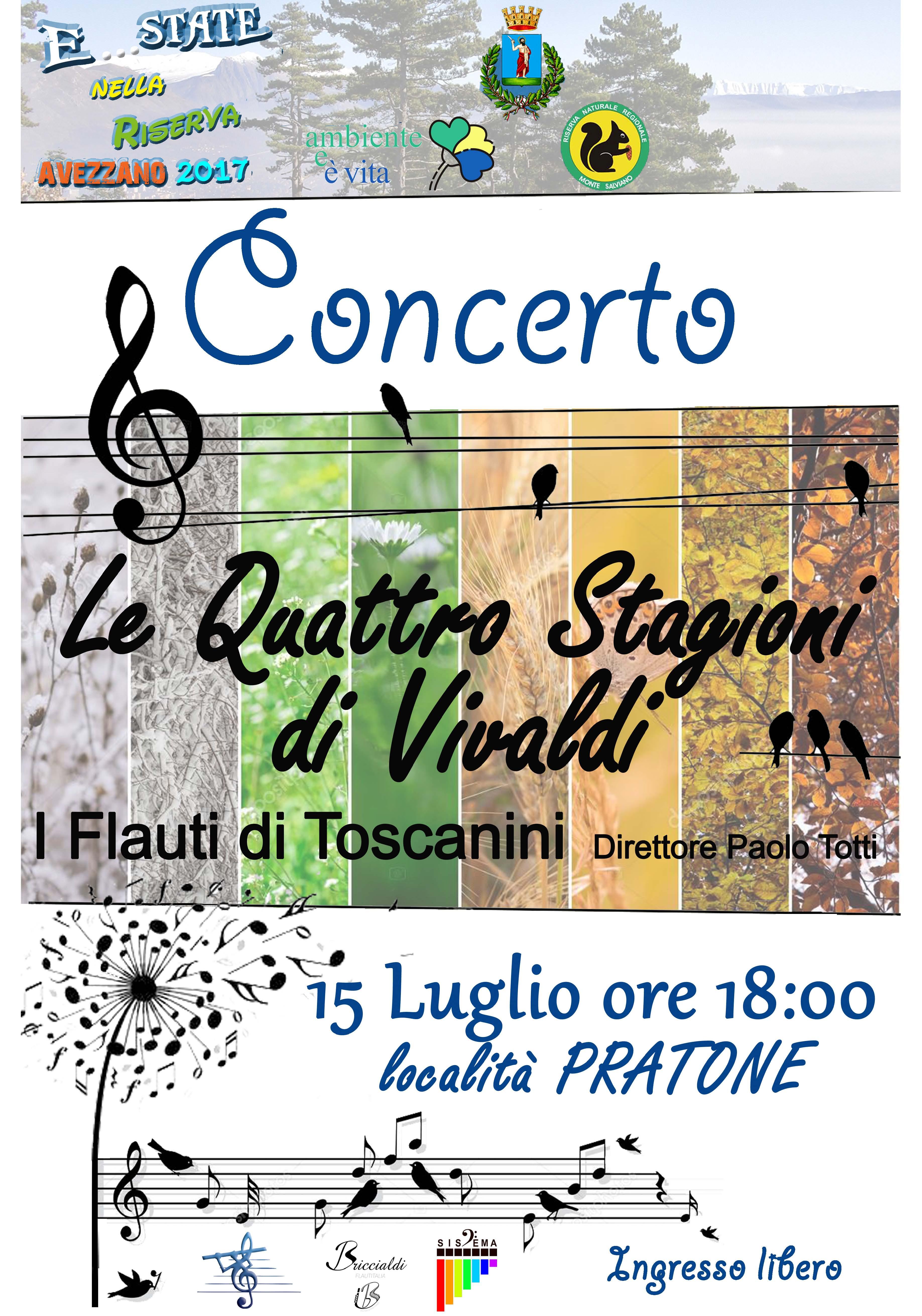 """Concerto in Riserva: """"Le quattro stagioni di Vivaldi"""""""