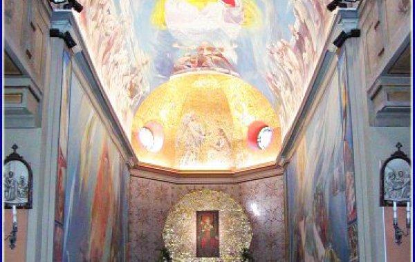 Messaggio di Natale del vescovo Santoro nel Santuario dell'Oriente a Tagliacozzo