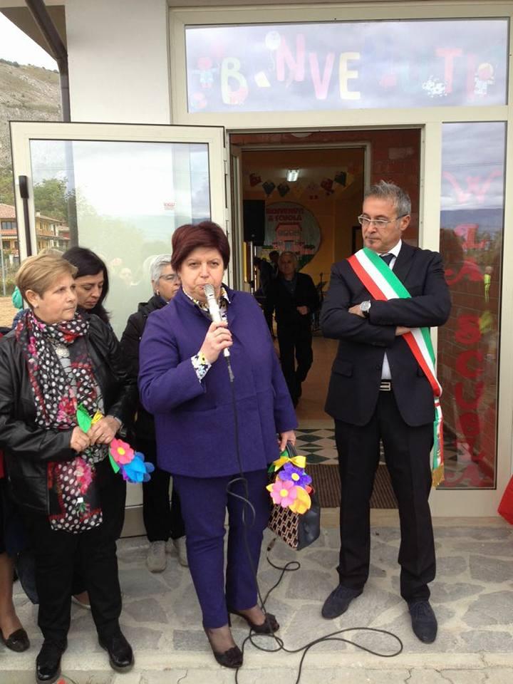 Inaugurata la nuova Scuola dell'Infanzia di Venere e Pescina   FOTO