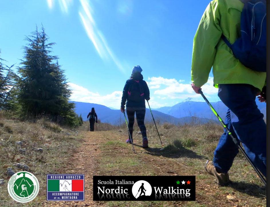Corsi Base ed allenamenti di Nordic Walking ad Avezzano