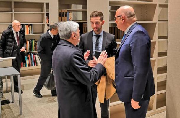 Inaugurata la Biblioteca Irti sugli studi giuridici, storici e sociali