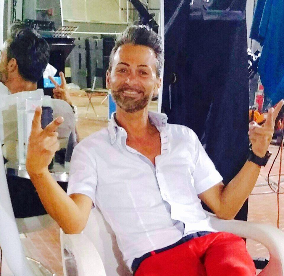 Tony Prosia di Pescina all'Arab Fashion Week di Dubai
