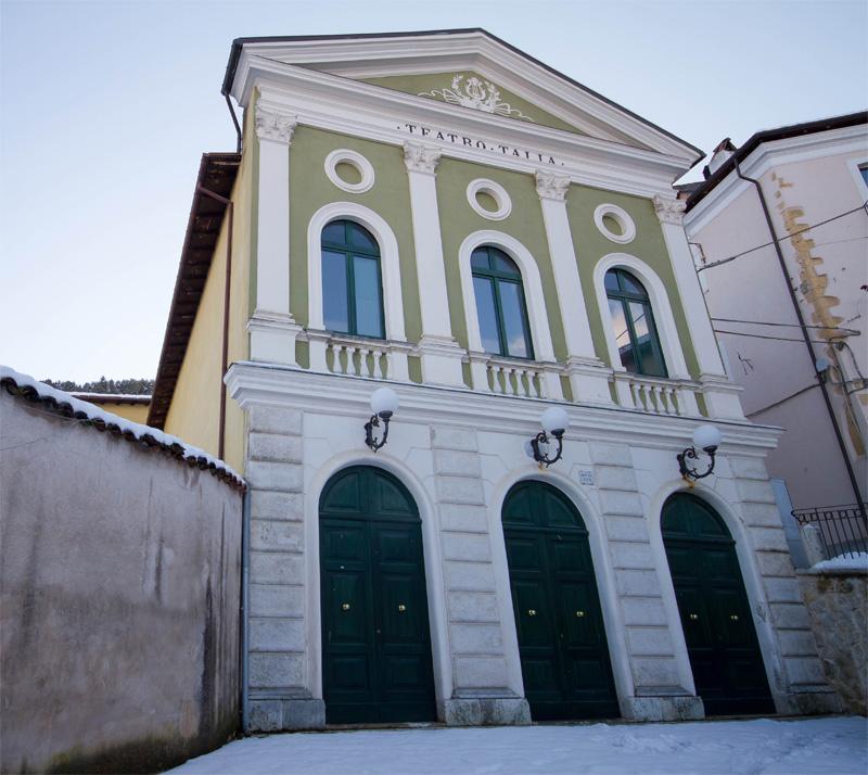 Non si terrà lo spettacolo annunciato per il 28 aprile al Teatro Talia di Tagliacozzo