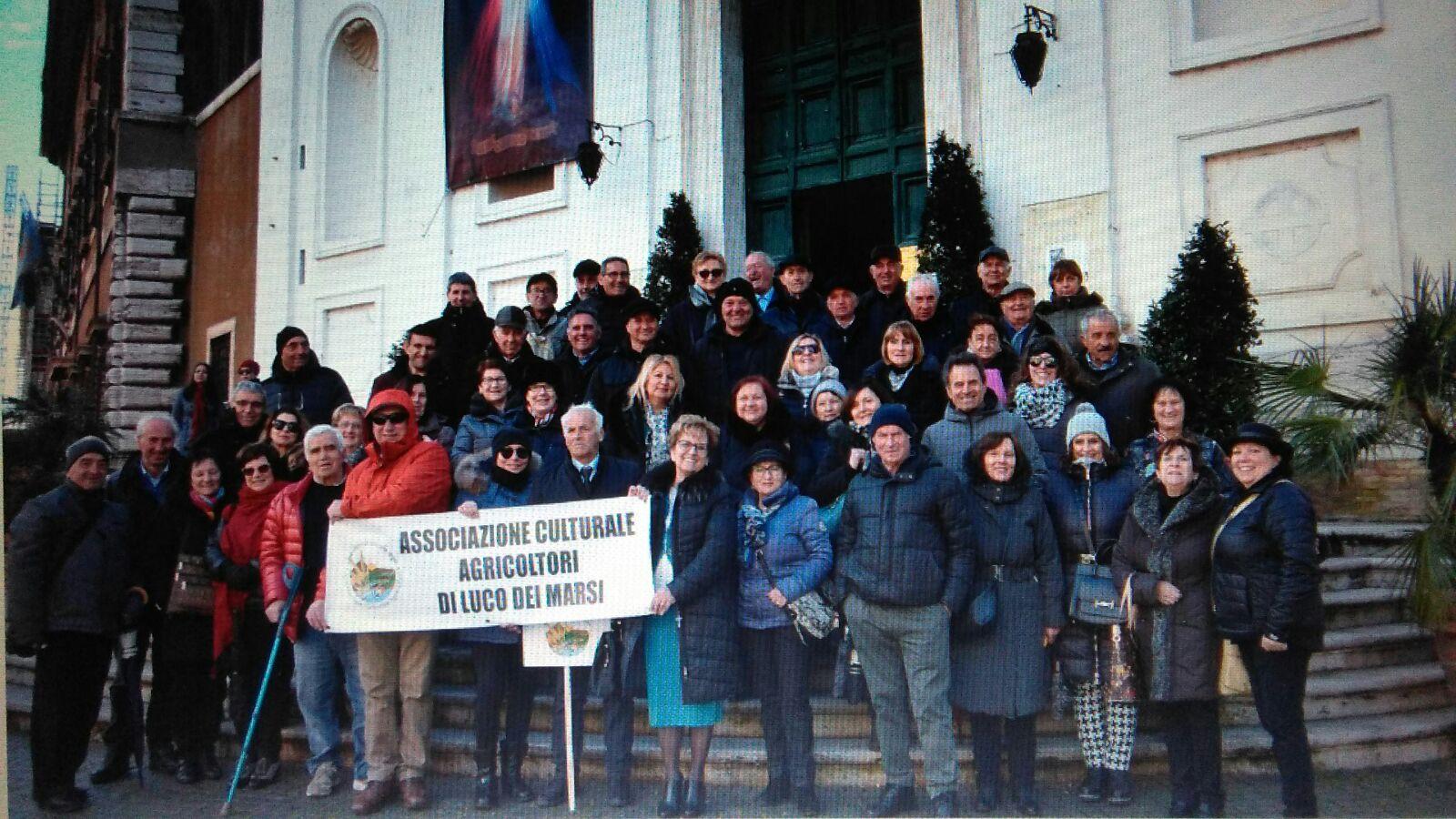 L'associazione Agricoltori all'Udienza Generale con il Santo Padre