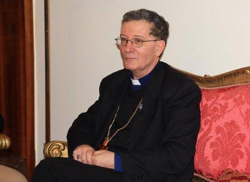 Monsignor Santoro presiede Messa defunti al cimitero di Avezzano