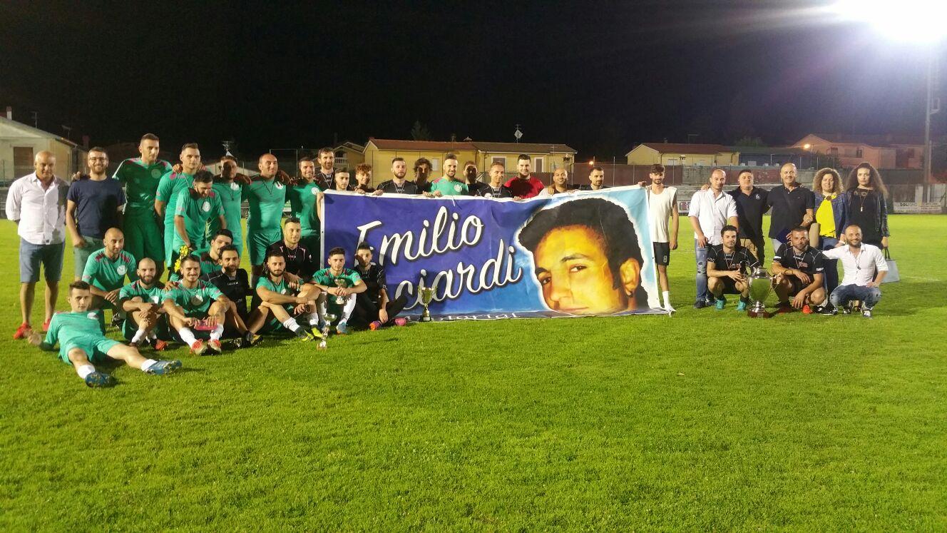 L'Art Cafè 365 si aggiudica il terzo memorial dedicato a Emilio Bisciardi (Guarda foto e video)