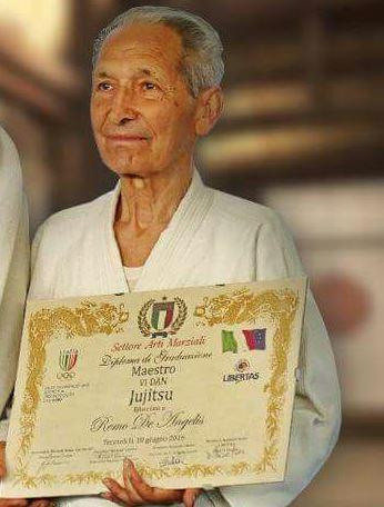 Avezzano piange la scomparsa del maestro di arti marziali Remo De Angelis