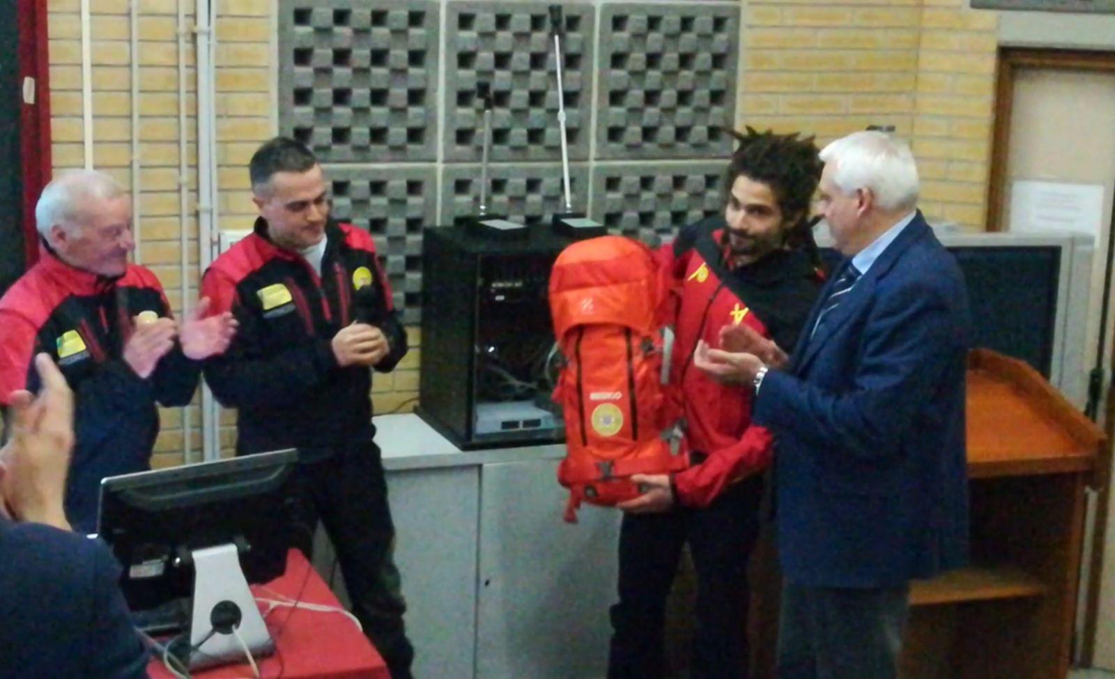 In occasione del primo anniversario della tragedia, il soccorso alpino ricorda l'equipaggio del 118