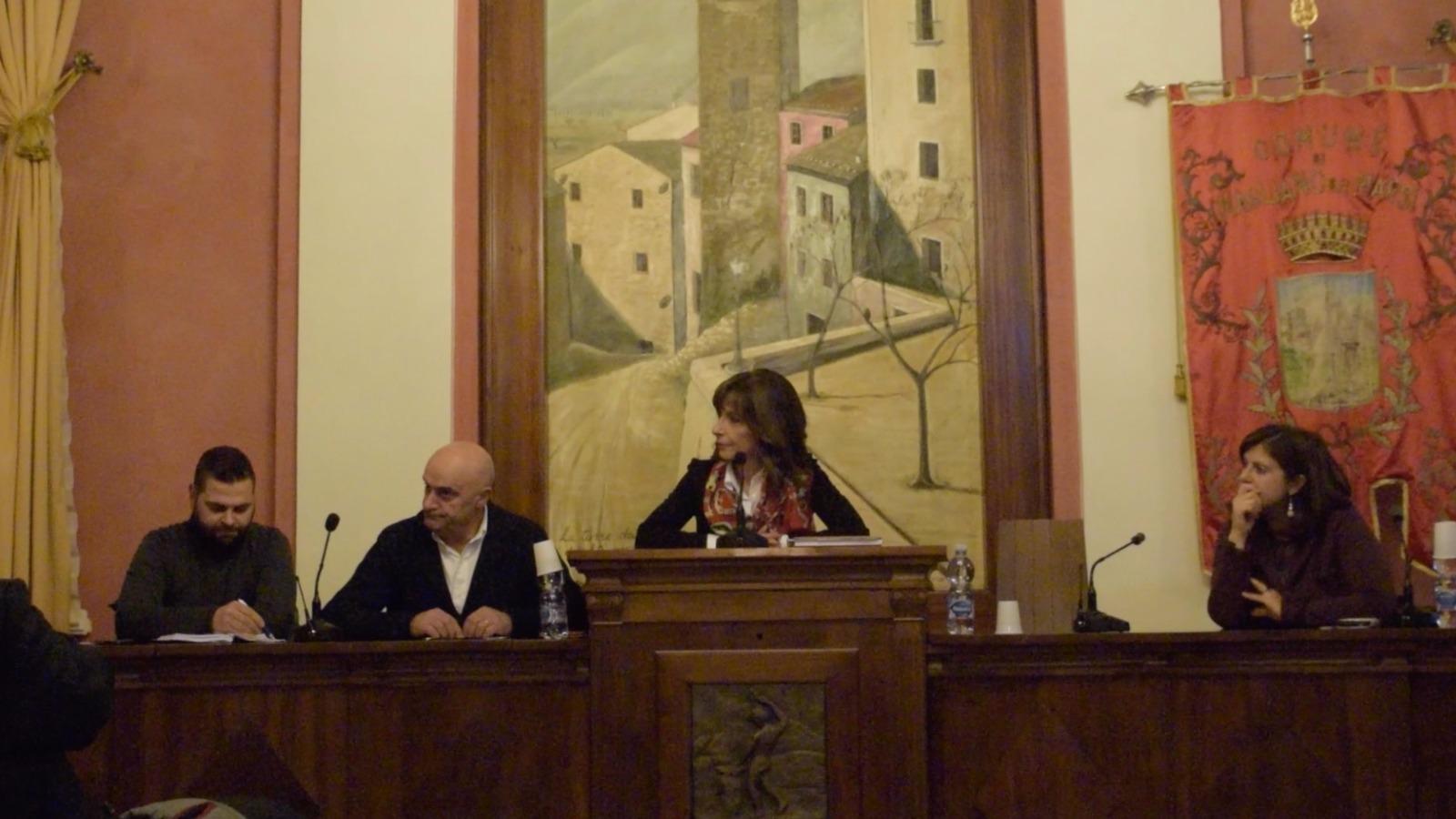 """La sindaca Mariangela Amiconi: """"Resto al Sud"""" per invogliare i giovani a investire nella propria terra"""