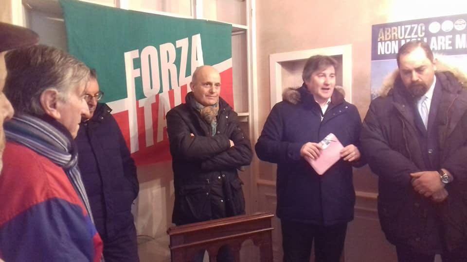 Tagliacozzo incontra il candidato di Forza Italia