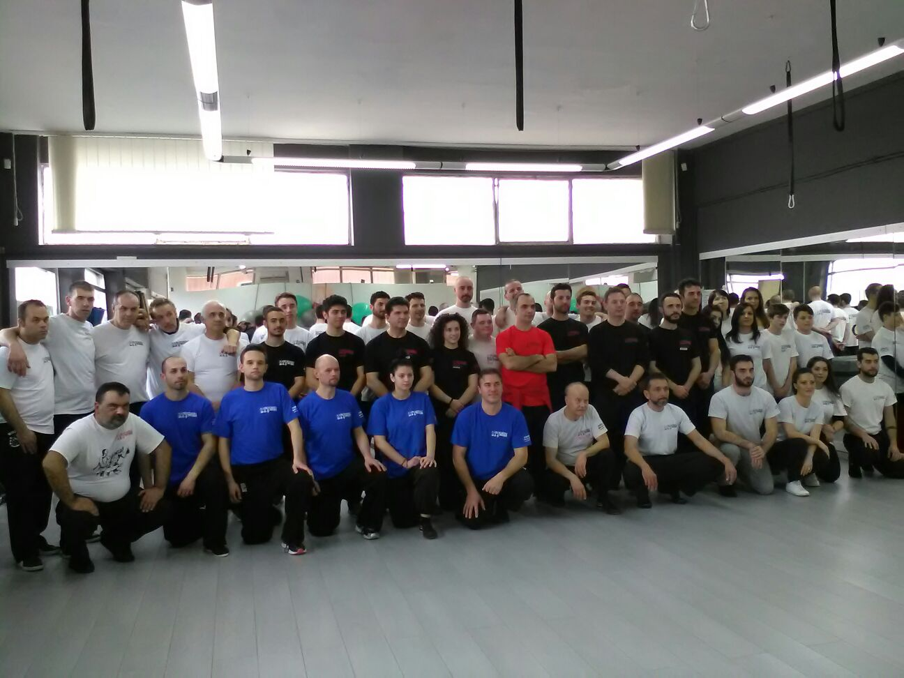 Arti marziali: un gruppo di allievi avezzanesi si distingue a Frosinone in un importante stage di Wing Tjun Kung Fu