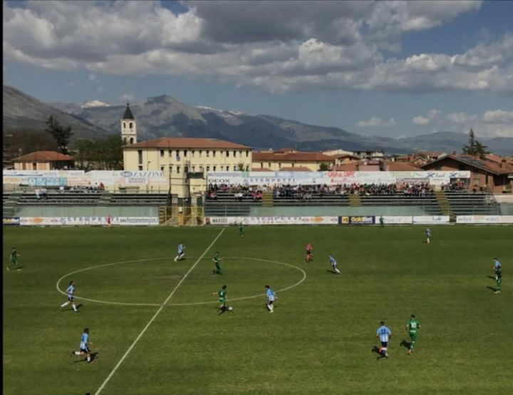 L'Avezzano Calcio si impone sul San Marino con un netto 2 a 0