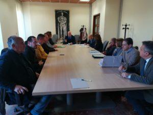 Riunito tavolo tecnico per impianto compostaggio Massa d'Albe
