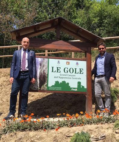 Nuova denominazione per 'Le Gole'