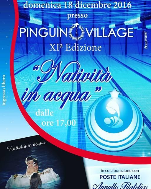 Al Pinguino Village torna la Natività in Acqua