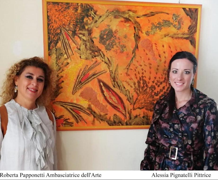 L'artista Alessia Pignatelli di Pescina allaBiennale Internazionale di Pescara