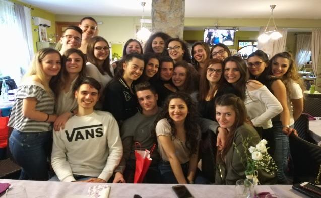 """Liceo Croce """"I primi alunni della provincia con il doppio diploma, italiano e francese, per la classe 5^L EsaBac"""""""
