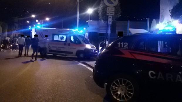 Civita, violenta lite tra profughi, due feriti