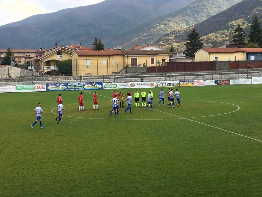 Entusiasmo Angizia, domenica l'attesissimo scontro diretto col Castelnuovo