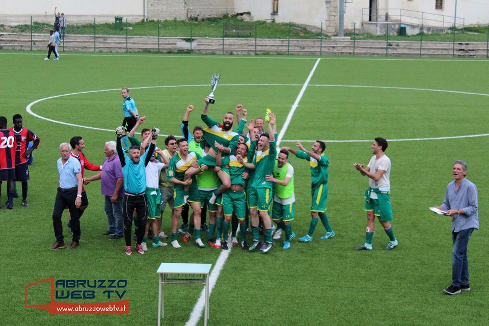 Asd Aielli vince la prima edizione della coppa delle provincie