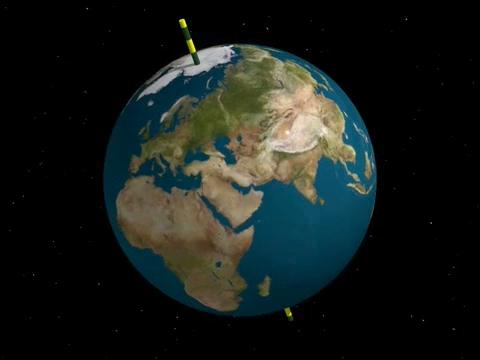 Lo spostamento dell'asse terrestre ed i terremoti