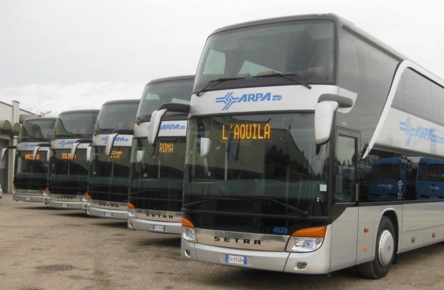 Bus, Linea Avezzano-L'Aquila via Rocca di Mezzo limitata a Ovindoli. Tagliacozzo, servizi ridotti