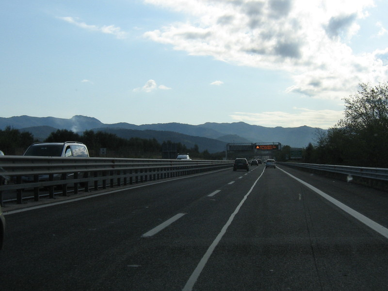 A24, chiusura notturna Traforo del Gran Sasso direzione Roma