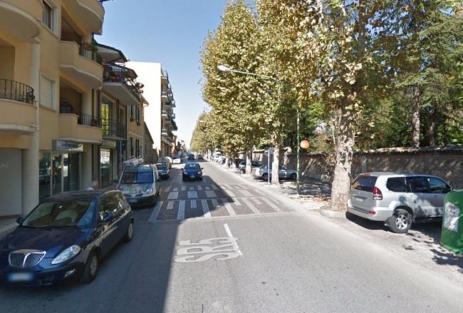 Lavori sistemazione passaggio pedonale via Roma, regolamentazione della circolazione stradale