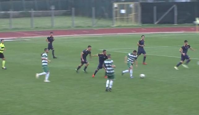 Avezzano Calcio frenata da un errore arbitrale. 1 a 1 a Santarcangelo