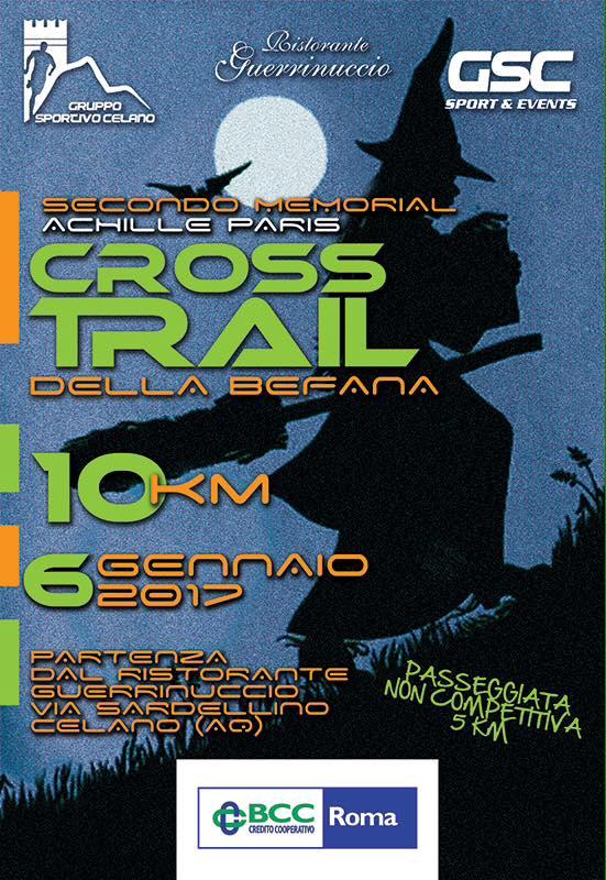 Tutto pronto per Il Cross Trail della Befana