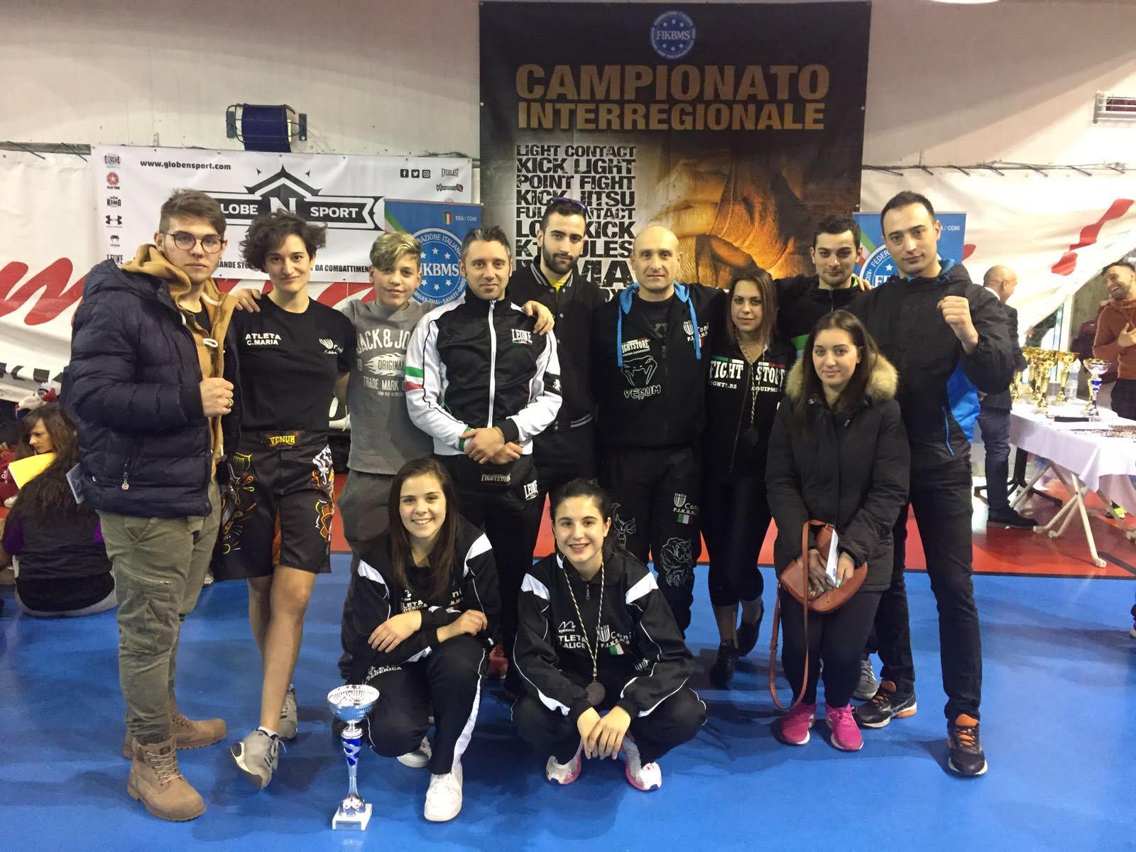 Esordio positivo per la K.O. Team agli Interregionali di kickboxing